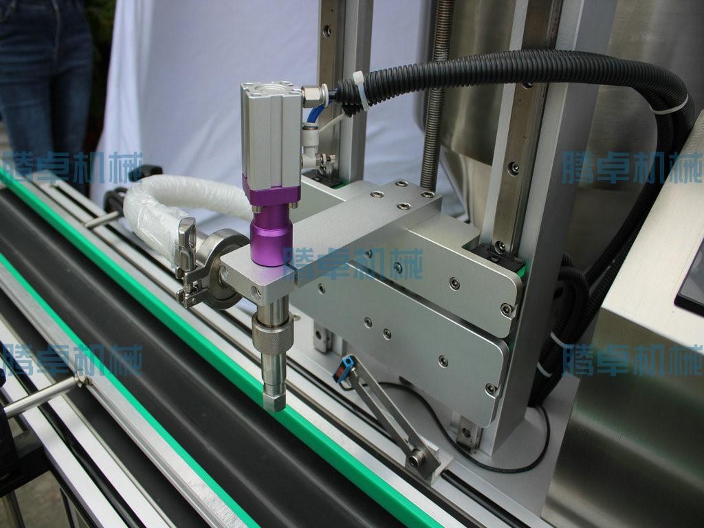 高速转子泵灌装机 定量果酱辣椒酱酱料灌装机火锅底料灌装机